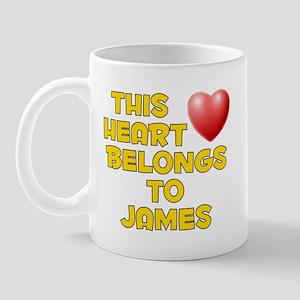 This Heart: James (D) Mug