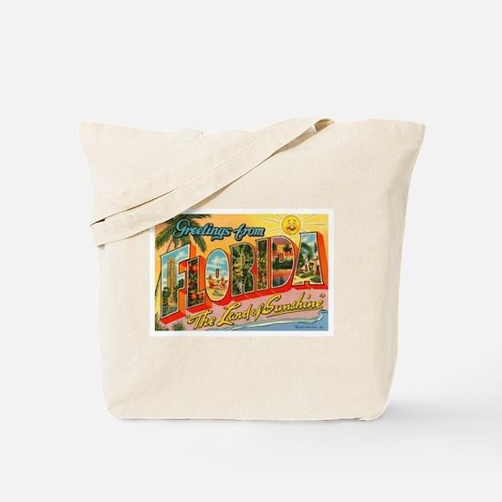 Greetings from Florida I Tote Bag