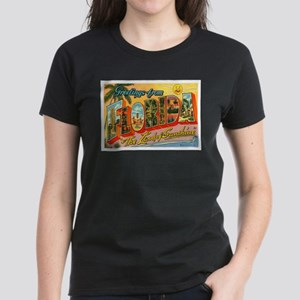 Greetings from Florida I Women's Dark T-Shirt