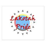 Lakotah Pride Sunburst Small Poster