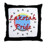 Lakotah Pride Sunburst Throw Pillow