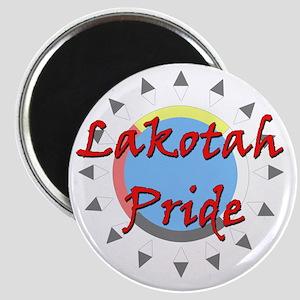 Lakotah Pride Sunburst Magnet