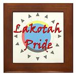 Lakotah Pride Sunburst Framed Tile