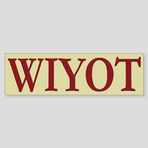 Wiyot Tribe Bumper Sticker