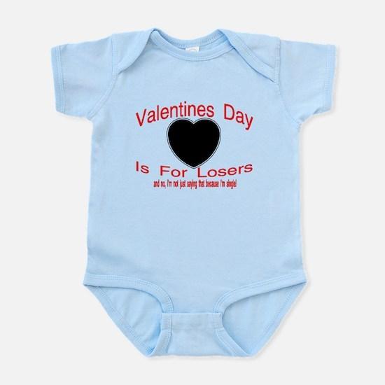 Valentine Loser Infant Bodysuit