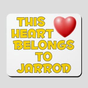 This Heart: Jarrod (D) Mousepad
