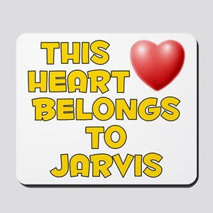 This Heart: Jarvis (D) Mousepad