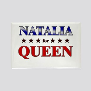 NATALIA for queen Rectangle Magnet