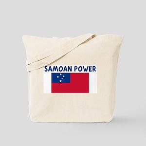 SAMOAN POWER Tote Bag