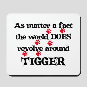 The World Revolves Around Tig Mousepad
