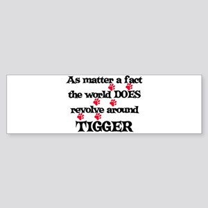 The World Revolves Around Tig Bumper Sticker
