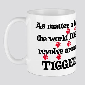 The World Revolves Around Tig Mug