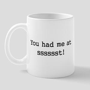 ssssssst Mugs