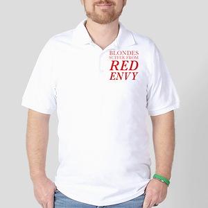 Red Envy Golf Shirt