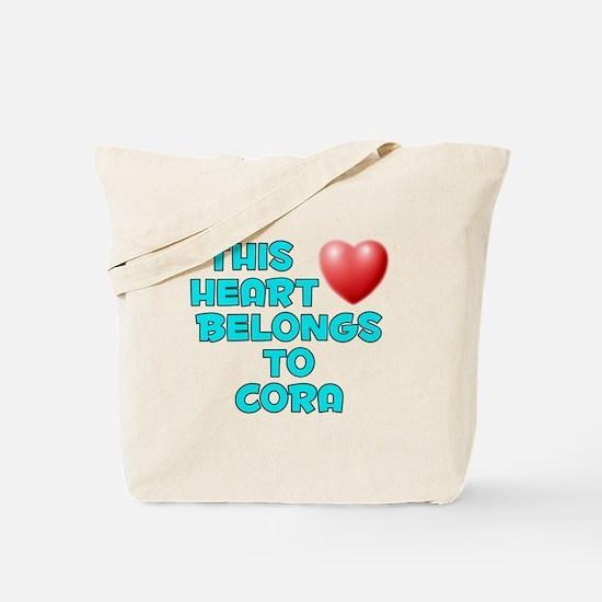 This Heart: Cora (E) Tote Bag