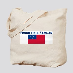 PROUD TO BE SAMOAN Tote Bag