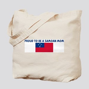 PROUD TO BE A SAMOAN MOM Tote Bag