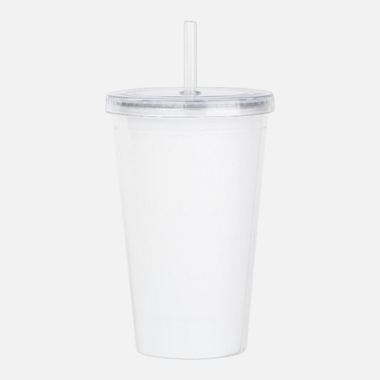 Criminal: A person wit Acrylic Double-wall Tumbler
