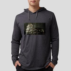 Coliseum At Night Long Sleeve T-Shirt