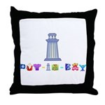 Perry Peace Monument Throw Pillow