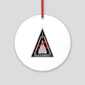 VF-154 Black Knights Ornament (Round)