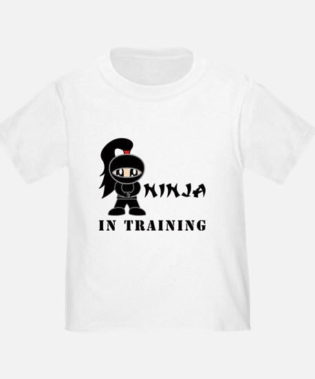 Girl Ninja In Training T