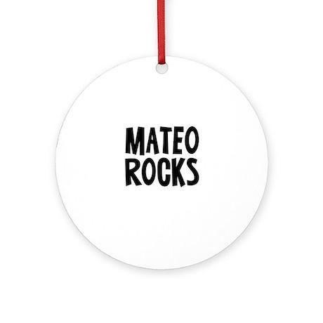 Mateo Rocks Ornament (Round)