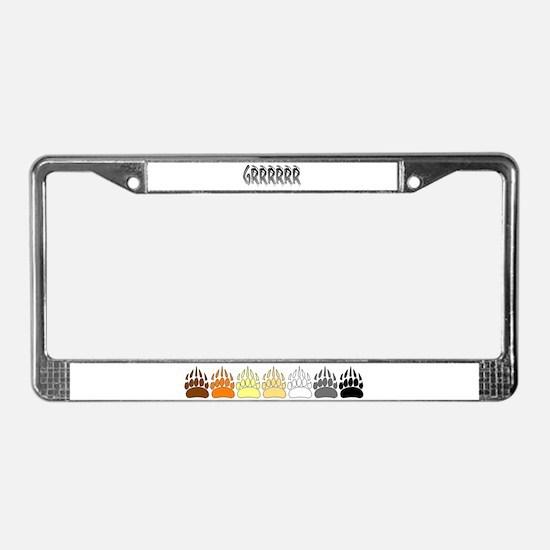 GRRRR2 License Plate Frame