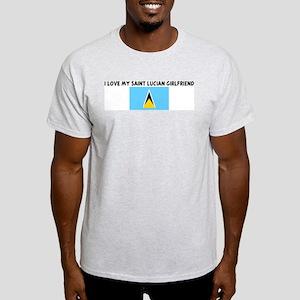 I LOVE MY SAINT LUCIAN GIRLFR Light T-Shirt