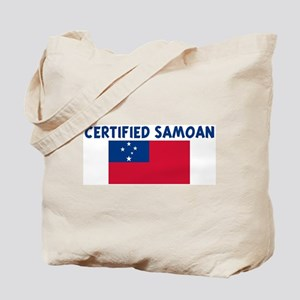 CERTIFIED SAMOAN Tote Bag