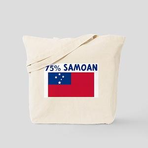 75 PERCENT SAMOAN Tote Bag