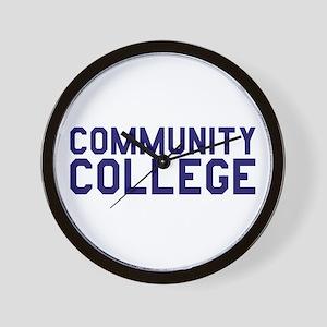 Community College Wall Clock