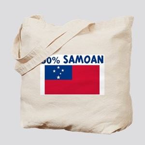 50 PERCENT SAMOAN Tote Bag