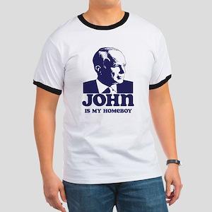 John is My Homeboy Ringer T