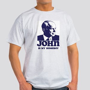 John is My Homeboy Light T-Shirt