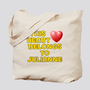 This Heart: Julianne (D) Tote Bag
