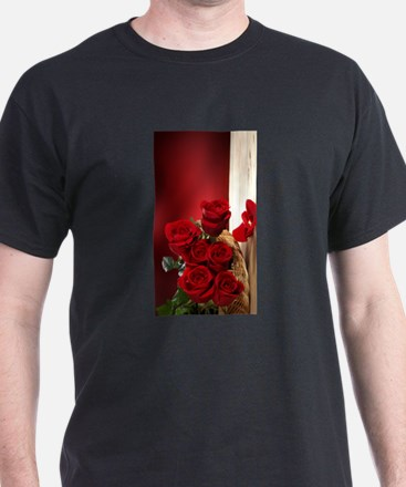 Superb Red Roses T-Shirt