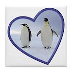 Emperor Penguin Tile Coaster