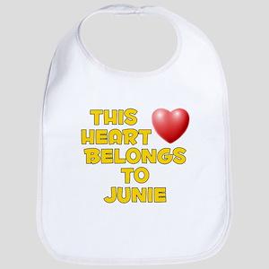 This Heart: Junie (D) Bib