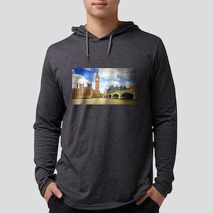 London Bridge And Big Ben Long Sleeve T-Shirt