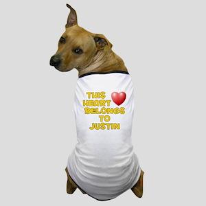 This Heart: Justin (D) Dog T-Shirt