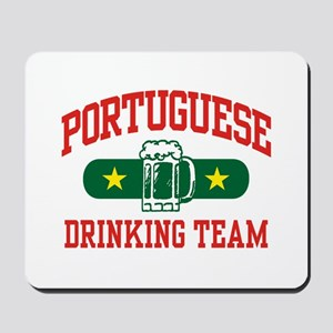 Portuguese Drinking Team Mousepad