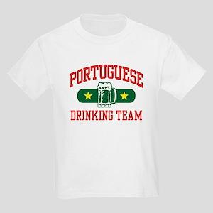Portuguese Drinking Team Kids Light T-Shirt