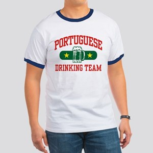 Portuguese Drinking Team Ringer T