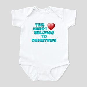 This Heart: Demetrius (E) Infant Bodysuit
