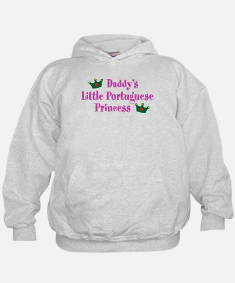 Daddy's Little Portuguese Princess Hoodie