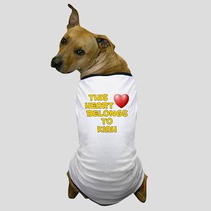 This Heart: Kiah (D) Dog T-Shirt