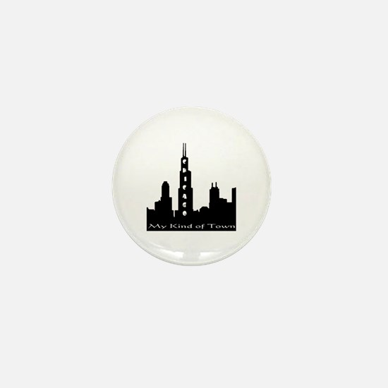 Chicago My Kind Of Town Mini Button