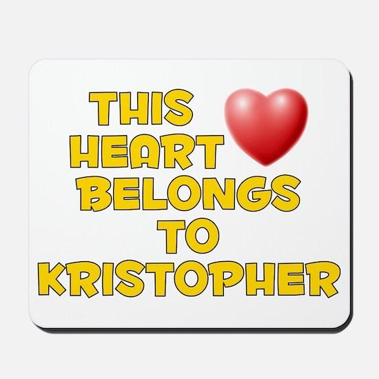 This Heart: Kristopher (D) Mousepad