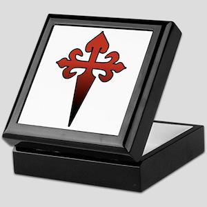Dagger and Cross Keepsake Box